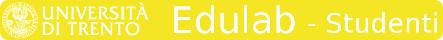 Edulab – Laboratori didattici delle scienze Sperimentali – Studenti